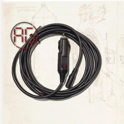 12V power adapter cable ISO...