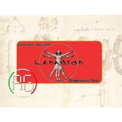Suitcase logo LEONARDO...