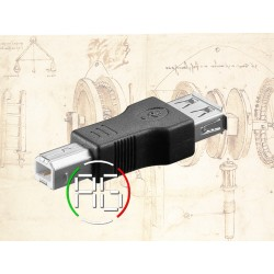 Adapter socket USB A/ plug...