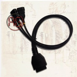 ISO OBD2 cable female...