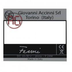 Identification label Fermi...