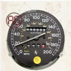 Instrument cluster- speed...