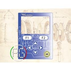 Marconi control keypad...